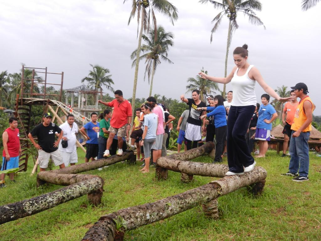 Bea Alonzo from ABS-CBN's 'A Beautiful Affair' Team Building