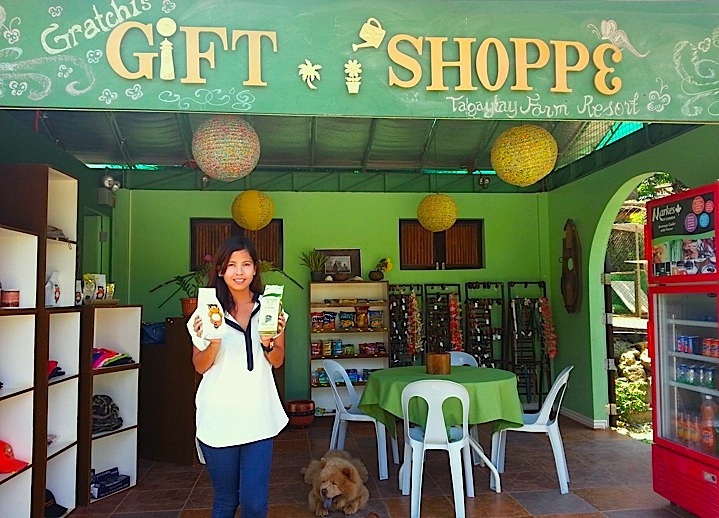 Gift Shoppe where Civet Cat Coffee is sold