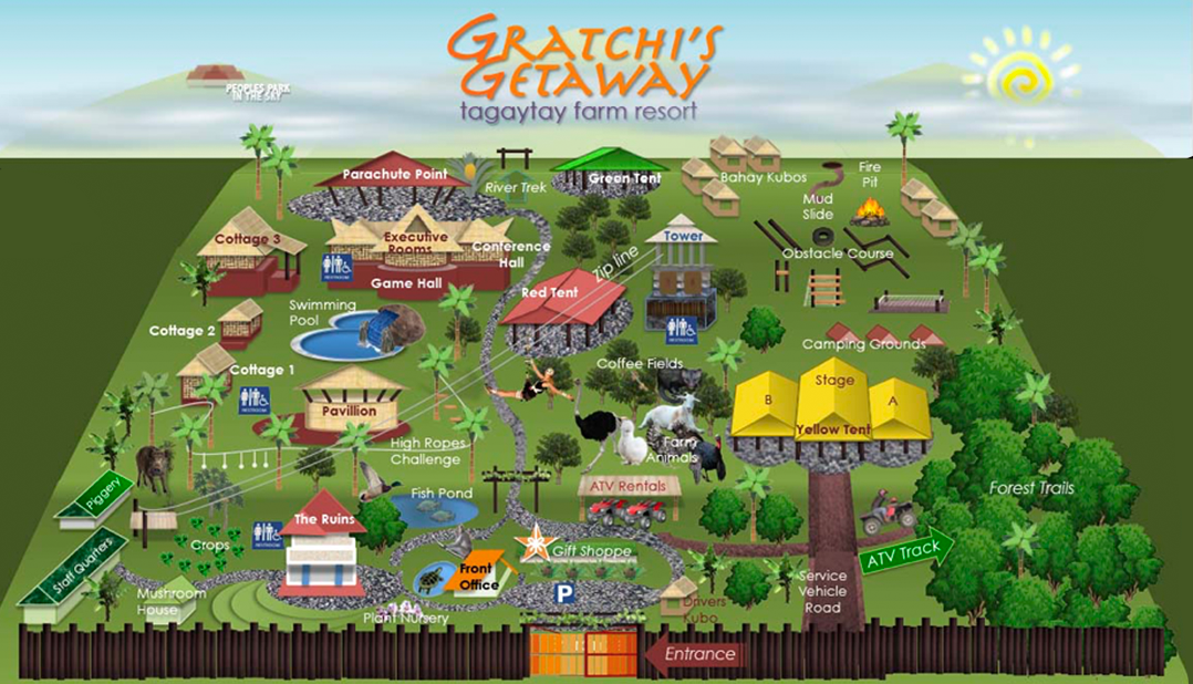 Gratchi S Getaway In Tagaytay Get Closer To Nature The