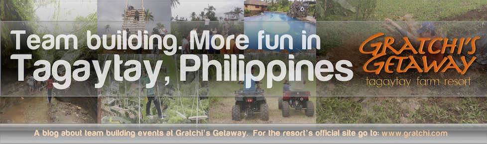 Team Building more fun in Tagaytay, Philippines - Gratchi's Getaway
