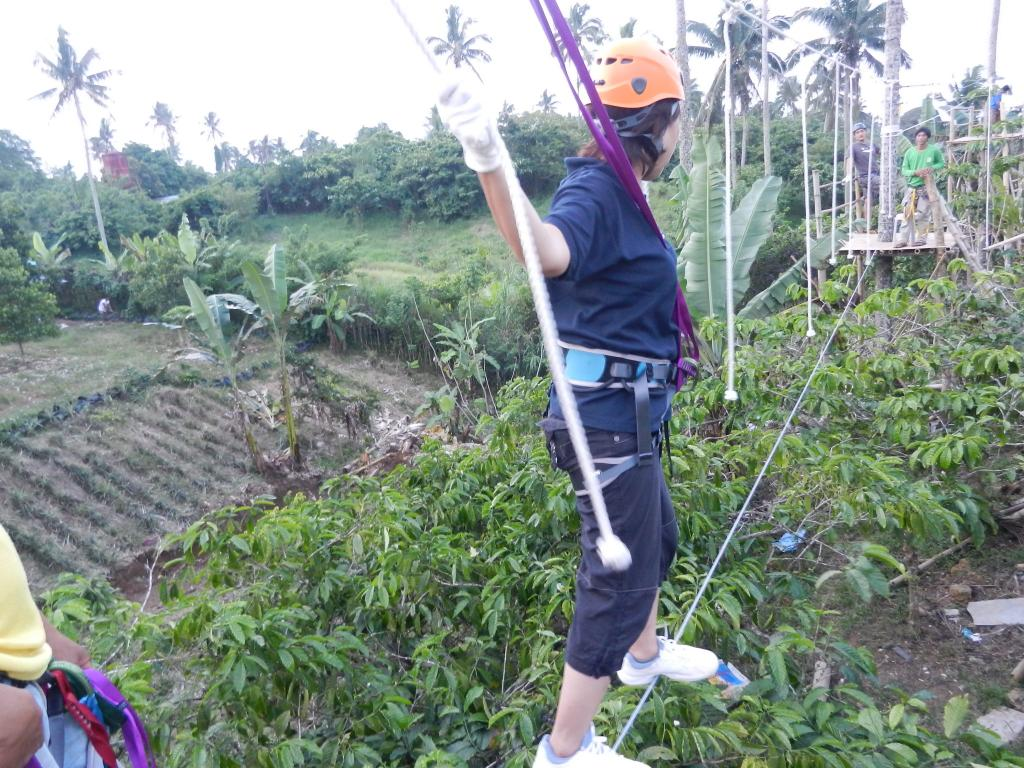 Vine walk, another high ropes obstacle